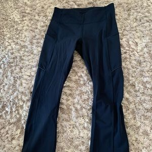Lulu blue 21' leggings